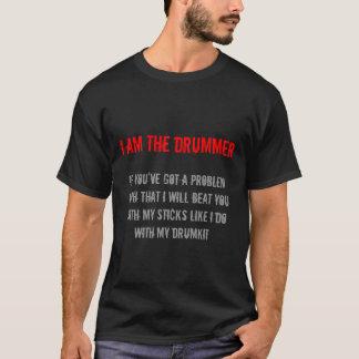 Im der Schlagzeuger T-Shirt