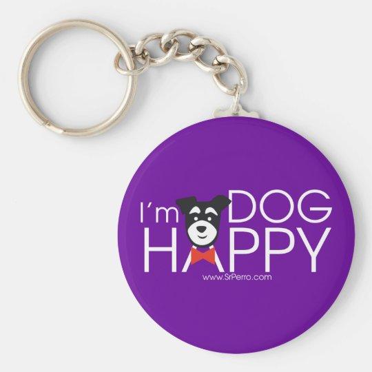 I'm Dog Happy Schlüsselanhänger