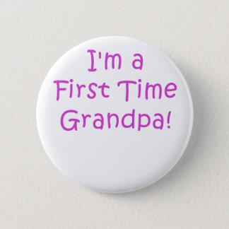 Im ein erstes Mal-Großvater Runder Button 5,1 Cm