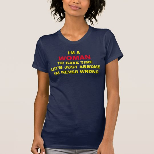 IM EINE FRAU T-Shirt