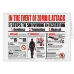 Im Falle der Zombie-Angriff ANMERKUNGS-KARTE