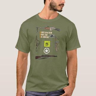 Im Flugzeug Gruppe ASL mit Waffe Grenze und T-Shirt