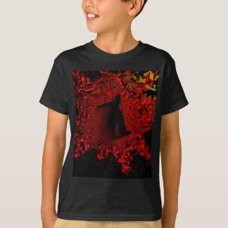 im Flugzeug Skateboarder T-Shirt