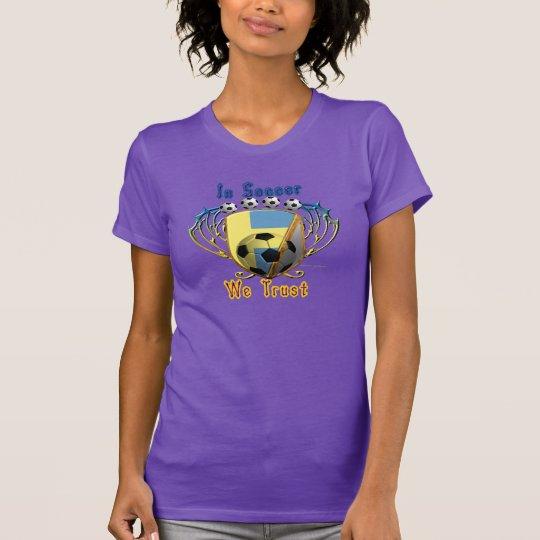 Im Fußball vertrauen wir Damen-Nano-T - Shirt