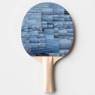 Im gleichen Boot Klingeln Pong Paddel rote Tischtennis Schläger