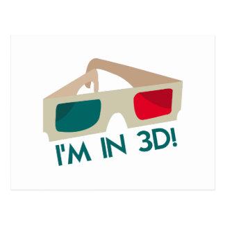 Im in 3D! Postkarte