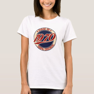 Im Jahre 1970 gemacht T-Shirt