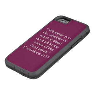 """""""Im Namen des Handy-Falles Jesuss"""" Iphone 6/6S Tough Xtreme iPhone 6 Hülle"""