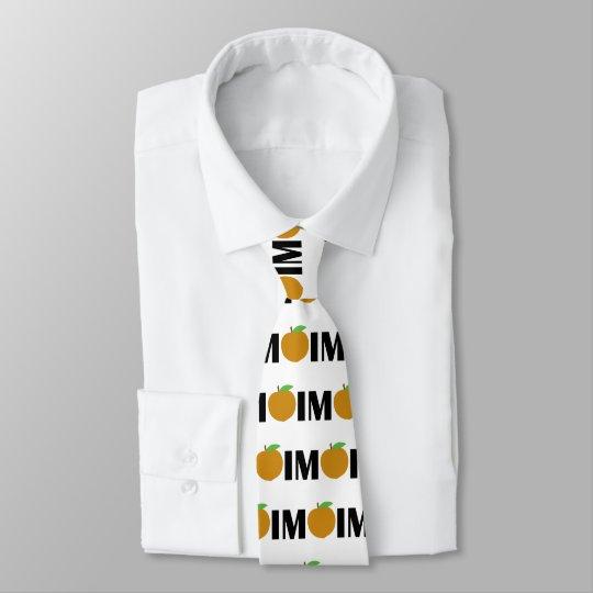 IM Pfirsich Individuelle Krawatten