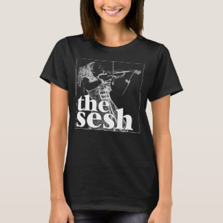 "Im Sesh der Frau ""Anne Harris"" schwarzes T-Stück T-Shirt"