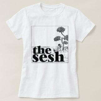"""Im Sesh der Frau """"der gebende Mond"""" weißes T-Stück T-Shirt"""