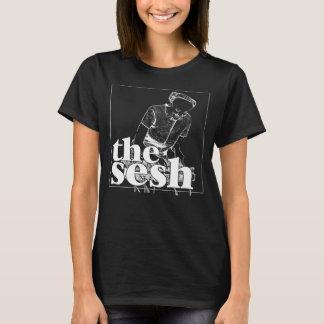 """Im Sesh der Frau """"Jill merkwürdig"""" schwarzes T-Shirt"""