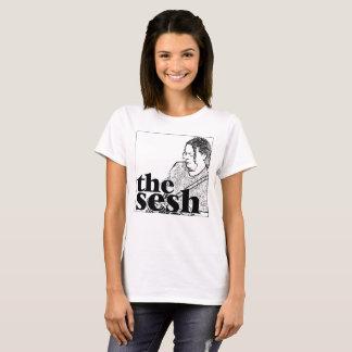 """Im Sesh der Frauen """"Dave Herrero"""" weißes T-Stück T-Shirt"""