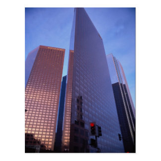 Im Stadtzentrum gelegene Los Angeles-Skyline, Postkarte