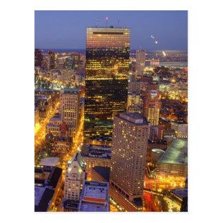 Im Stadtzentrum gelegener Boston- und Hancock-Turm Postkarte