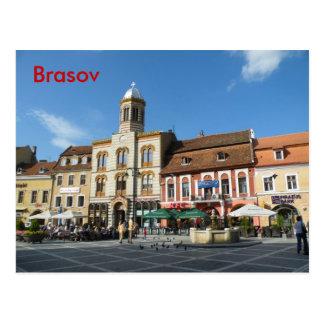 Im Stadtzentrum gelegener Brasov Postkarte