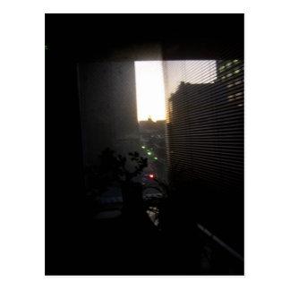 Im Stadtzentrum gelegener Tokyo-Sonnenaufgang Postkarte