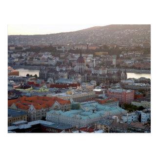 Im Stadtzentrum gelegenes Budapest Postkarte