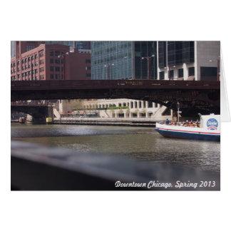 Im Stadtzentrum gelegenes Chicago, Frühling 2013 Karte