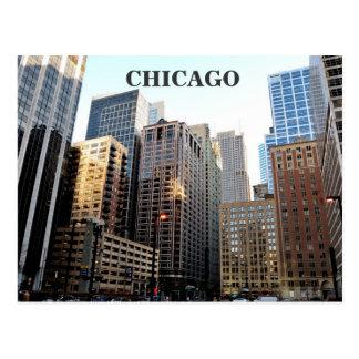 Im Stadtzentrum gelegenes Chicago Postkarte