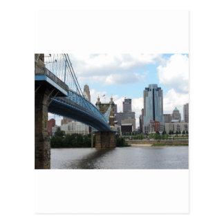 Im Stadtzentrum gelegenes Cincinnati Postkarte