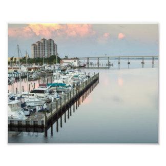 Im Stadtzentrum gelegenes Fort Myers Florida am Kunstfoto