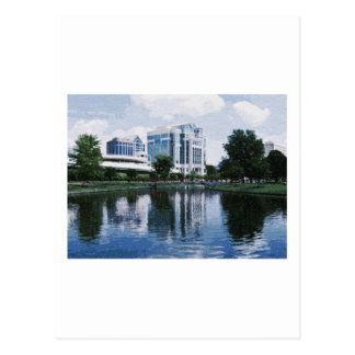 Im Stadtzentrum gelegenes Huntsville, Alabama Postkarte