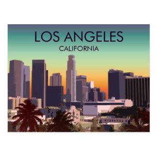 Im Stadtzentrum gelegenes L.A. Postkarte