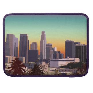 Im Stadtzentrum gelegenes Los Angeles, Kalifornien Sleeve Für MacBook Pro