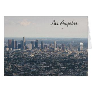 Im Stadtzentrum gelegenes Los Angeles Karte