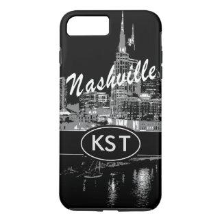Im Stadtzentrum gelegenes Nashville iPhone 6/6s iPhone 8 Plus/7 Plus Hülle