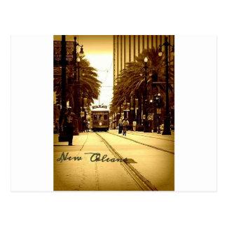 Im Stadtzentrum gelegenes New Orleans Postkarte