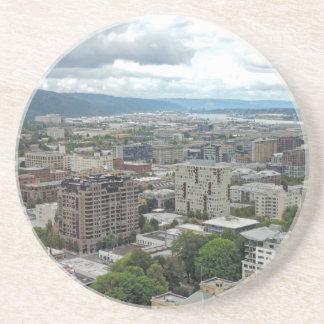 Im Stadtzentrum gelegenes Portland Untersetzer