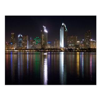 Im Stadtzentrum gelegenes San Diego, Kalifornien Postkarte
