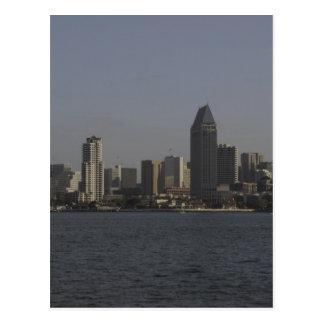 Im Stadtzentrum gelegenes San Diego Postkarte