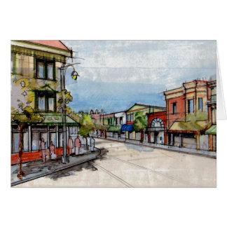 Im Stadtzentrum gelegenes Sausalito Karte