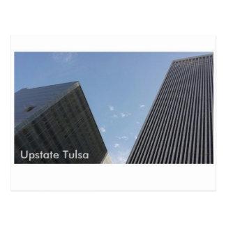 Im Stadtzentrum gelegenes Tulsa, Oklahoma Postkarte