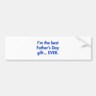 Im-the-best-fathers-day-gift-fut-blue.png Autoaufkleber