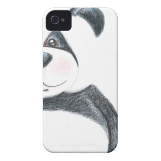 Image Blackberry d'ours panda audacieux Coques iPhone 4