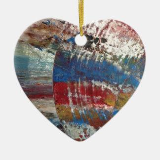 image in Acryl Immer im Fluss Keramik Ornament