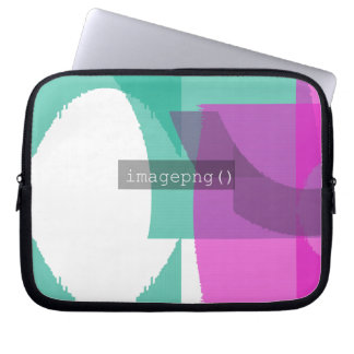 imagepng () Code-Entwurf auf Laptop-Hülse Laptopschutzhülle