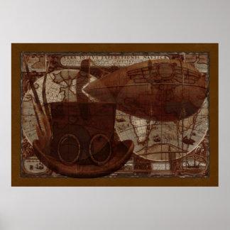 Imaginarium Steampunk gemischte Medien Poster
