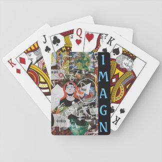 IMAGN Kartenstapeles Pokerdeck