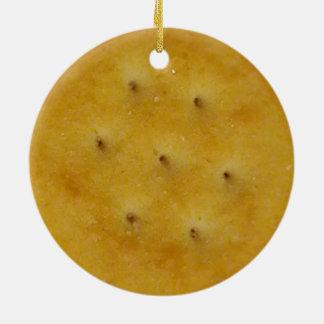 Imbiss-Cracker Rundes Keramik Ornament