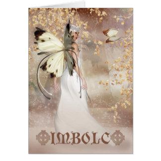 Imbolc Fantasie-feenhafte Kunst-Karte - der Geist Karte