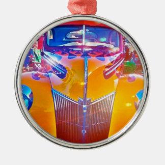 IMG_0382.JPG klassisches amerikanisches Rundes Silberfarbenes Ornament
