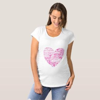 IMHM Herz-Mutterschafts-Shirt Schwangerschafts T-Shirt