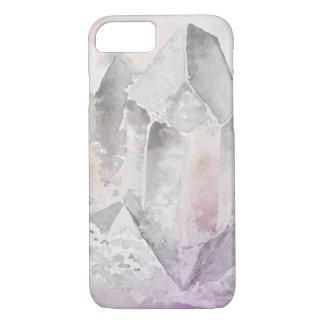 *~* Imitat-Amethyst heilende Kristallenergie iPhone 8/7 Hülle