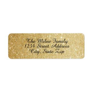 Imitat-GoldGlitter-Adressen-Etiketten