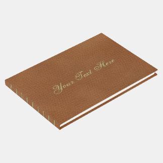 Imitat-ledernes Muster Gästebuch